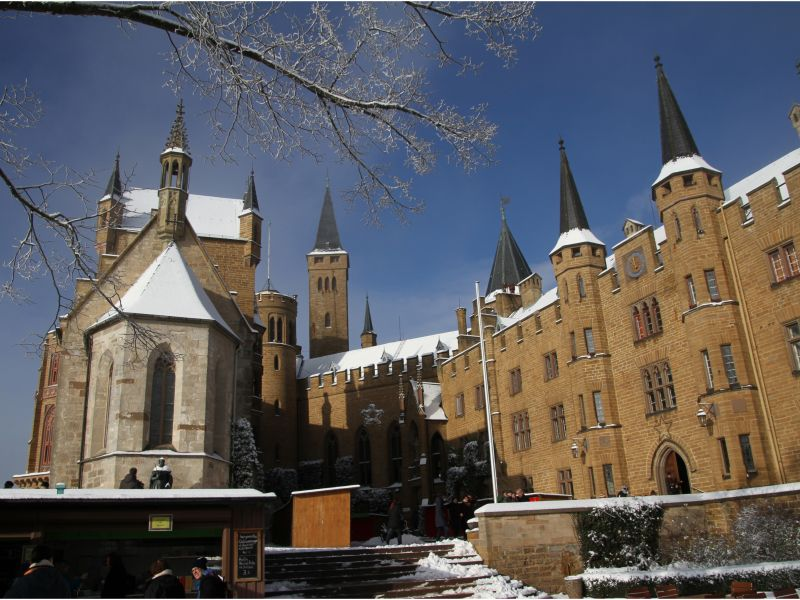 Hohenzollern Castle, courtesy of Russell Simpson