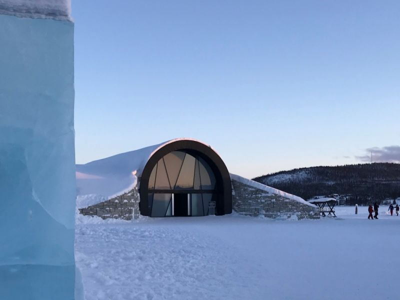 Stay in the incredible IceHotel