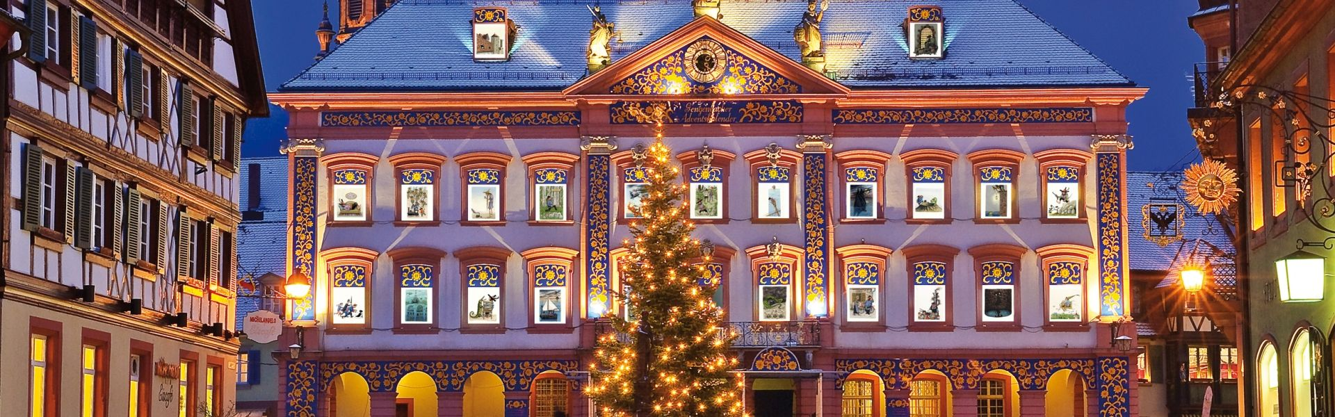 Gengenbach Town Hall Advent Calender - image courtesy of GNTBKeute,Jochen
