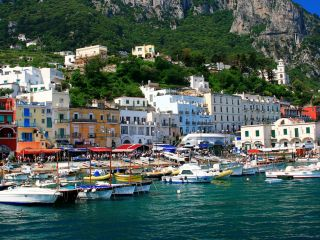 Marina Grande, Isle of Capri - courtesy of Linda Appleby